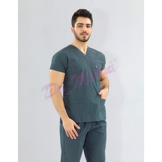 Yarasa Kol Modeli Cerrahi takım ( Terikoton ince Kumaş)